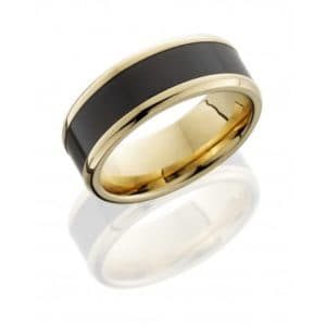 Elysium Polish Wedding Band