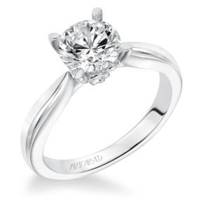 """Nelly"" Solitaire Engagement Ring"