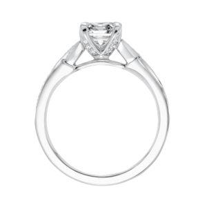 """London"" Diamond Split Shank Engagement Ring"