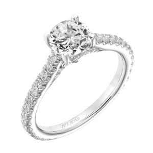 """Adrienne"" Prong Set Engagement Ring"