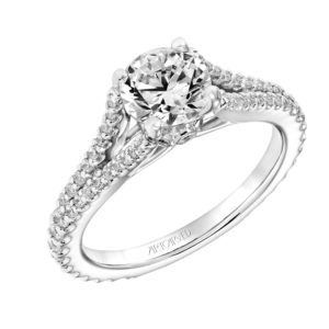 """Darlene"" Prong Set Engagement Ring"