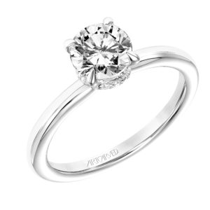 """Erin"" Diamond Solitaire Engagement Ring"