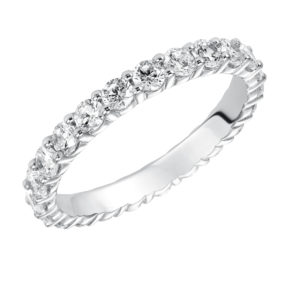 1.49 ctw Lady's Shared Prong Diamond Eternity Band