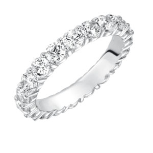 2.47 ctw Lady's Shared Prong Diamond Eternity Band