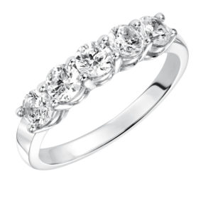 0.50 ctw Lady's Gold Diamond Band