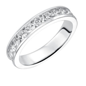 1.98 ctw Lady's Channel Set Diamond Band