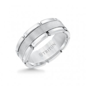 8 mm Tungsten Carbon Ring