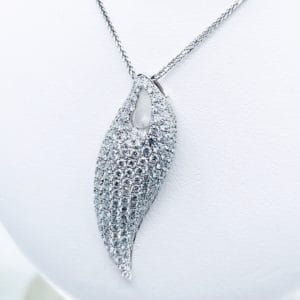 Elma Designs Free Form Diamond Pendant