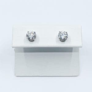 2.05 ctw Diamond Stud Earrings