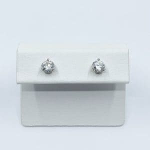 1.0 Carat Total Diamond Stud Earrings