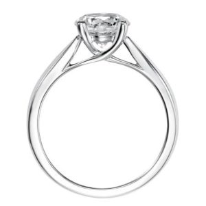 Timeless Diamond Solitaire Engagement Ring