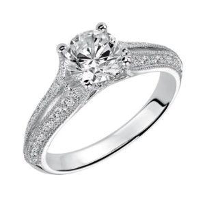 Heirloom Inspired Engagement Ring