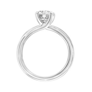 """""""Missy"""" Traditional Solitaire with Byp..."""