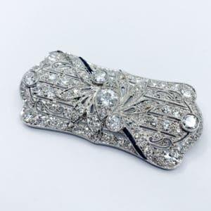 Diamond and Sapphire Convertible Pendant (Estate)