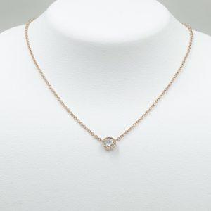 Diamond Bezel Pendant