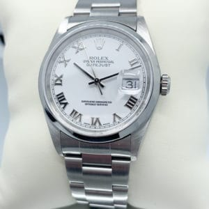Pre-Owned 35mm Stainless Rolex Datejust