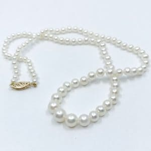 18″ Graduated Freshwater Pearl Necklace