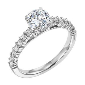 .35 ctw Prong Style Engagement Ring
