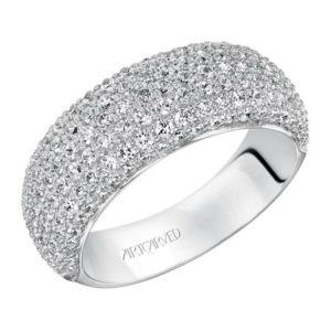 1.48 ctw Diamond Pave Ring