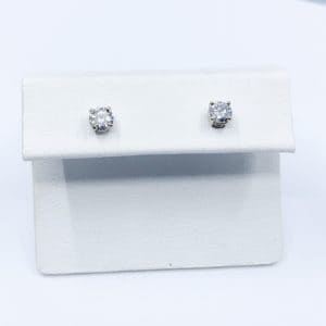 .46 ctw Round Brilliant Diamond Studs