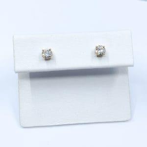 .47 ctw Diamond Stud Earrings