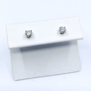 .57 ctw Diamond Stud Earrings