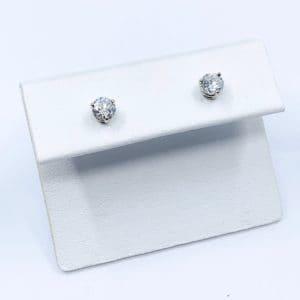 .57 ctw Diamond Studs