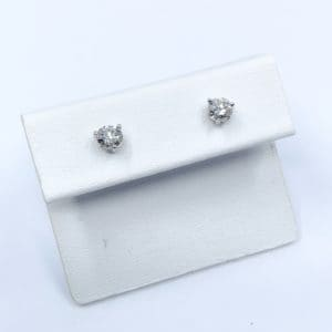 .58 ctw Diamond Stud Earrings