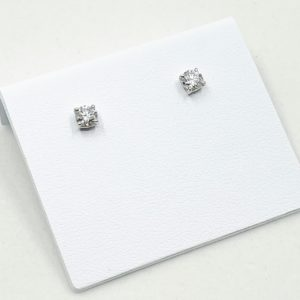 .51 ctw Diamond Stud Earrings