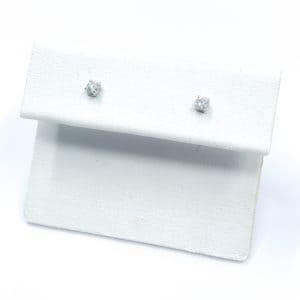 .10 carat total diamond studs