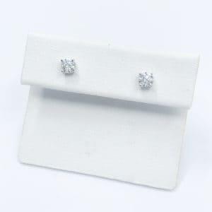 .50 carats total diamond studs