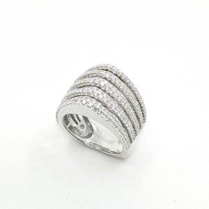 Stacked Diamond Fashion Ring
