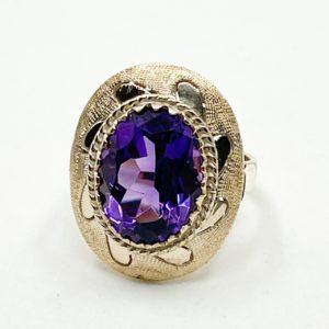 Estate Amethyst Ring