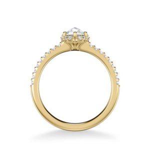 """Madelyn"" Rose Cut Diamond Engagement Ring"