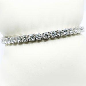 12.17 ctw Diamond Tennis Bracelet