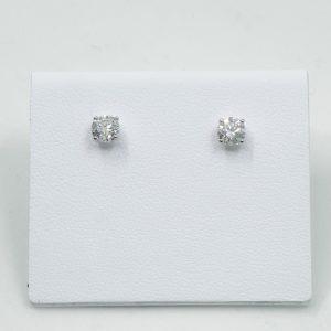 .80 ctw Round Brilliant Diamond Studs